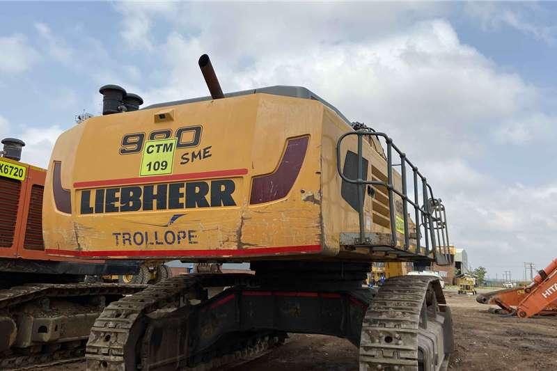Liebherr Excavator Excavators
