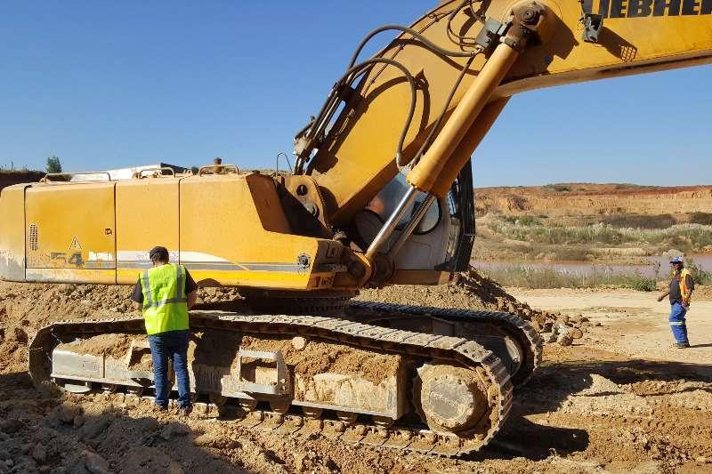 Liebherr Excavators Liebherr 954 Excavator (QEX037) 2012
