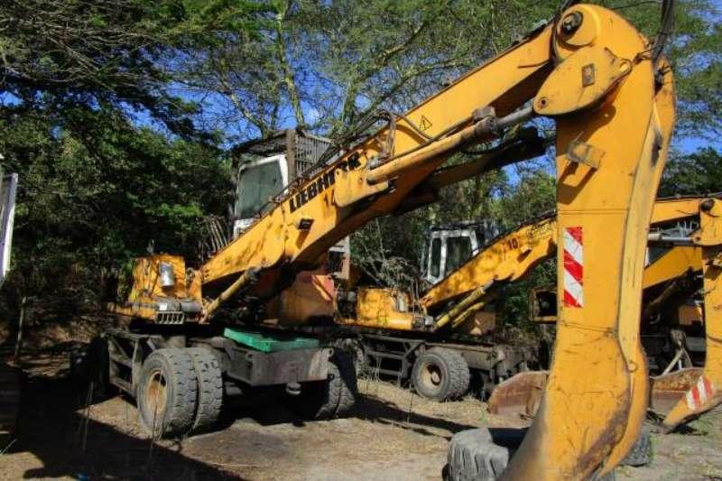 Liebherr Excavators Liebherr A924 C HD Litronic, Wheeled Excavator 2008