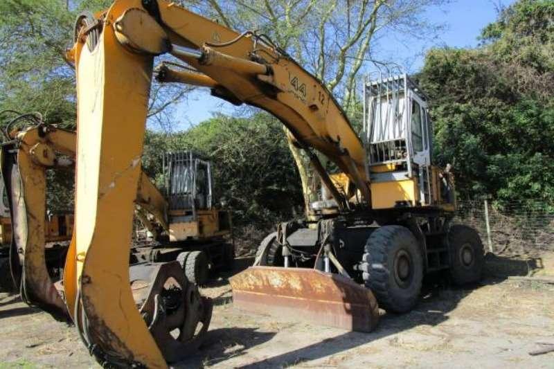 Liebherr Excavators Liebherr A944 HOLZ Litronic, Wheeled Excavator wit