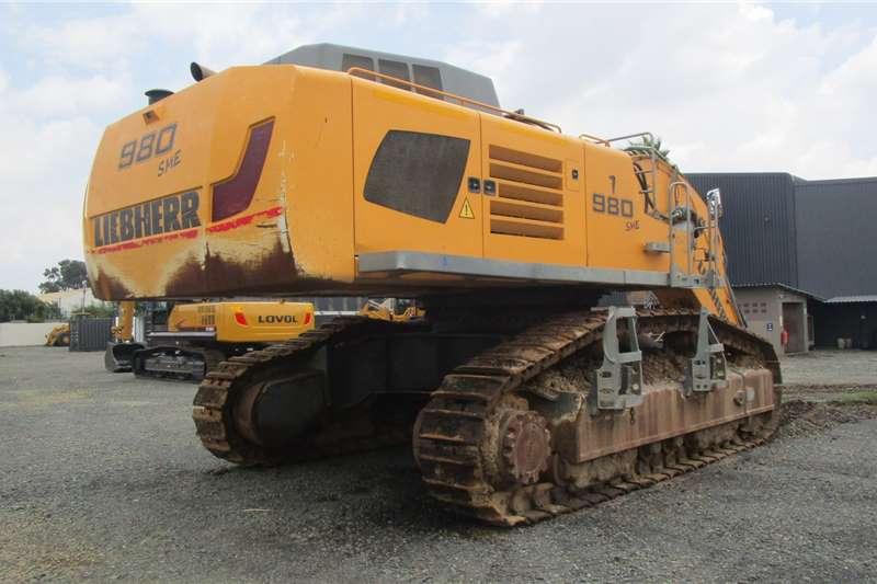 Liebherr R980 Excavators