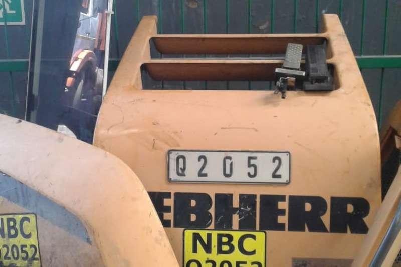 Liebherr Exhaust parts Machinery spares