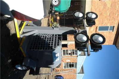 Light Towers Plug in options or Generator options Light towers