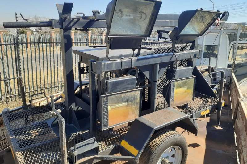 Lighting Plant D/Axle Trailer Light towers