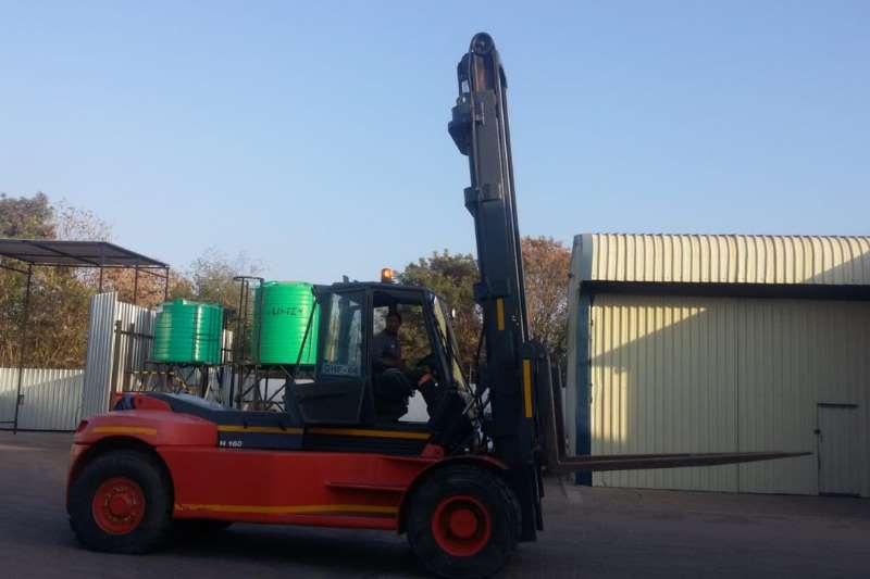 Linde Forklifts 16ton Linde H160 forklift