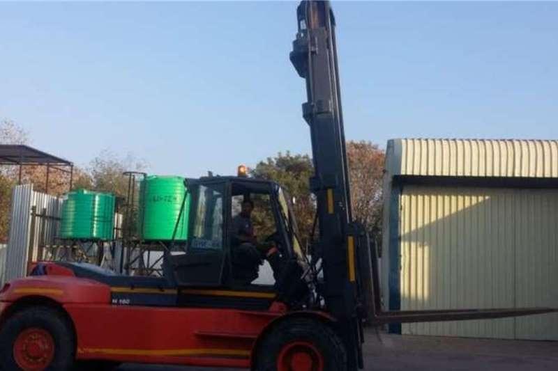 Linde Forklifts Diesel Forklift 16 ton Linde