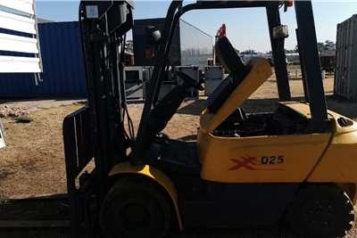 Linde Forklifts Diesel Forklift 2.5 ton Linde