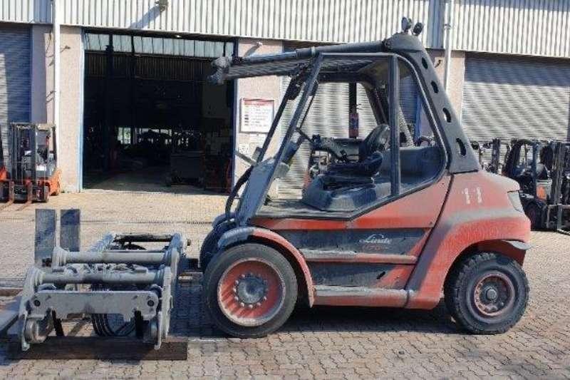 Linde Forklifts Diesel forklift H70D Linde 7 ton 2017