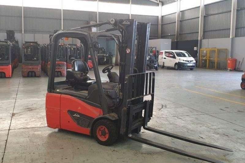 Linde Forklifts Electric forklift Linde 1.6 tonE16C 02 2015
