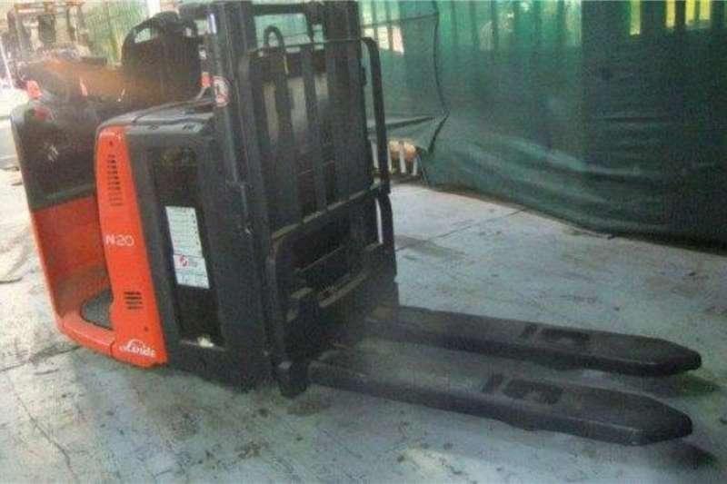 Linde Electric forklift Linde 2 Ton N20LPallet Truck Forklifts