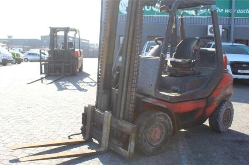 Linde Forklifts H25D 05 2.5 Ton Diesel Forklift 2013