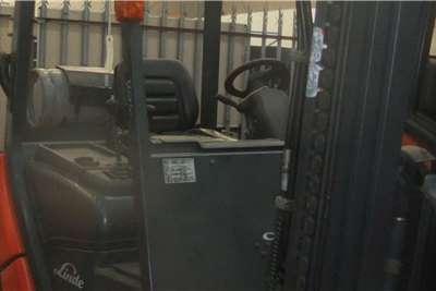 Linde LP gas 3 TonHD25DTLPG Torque Converter Yanmar Forklifts
