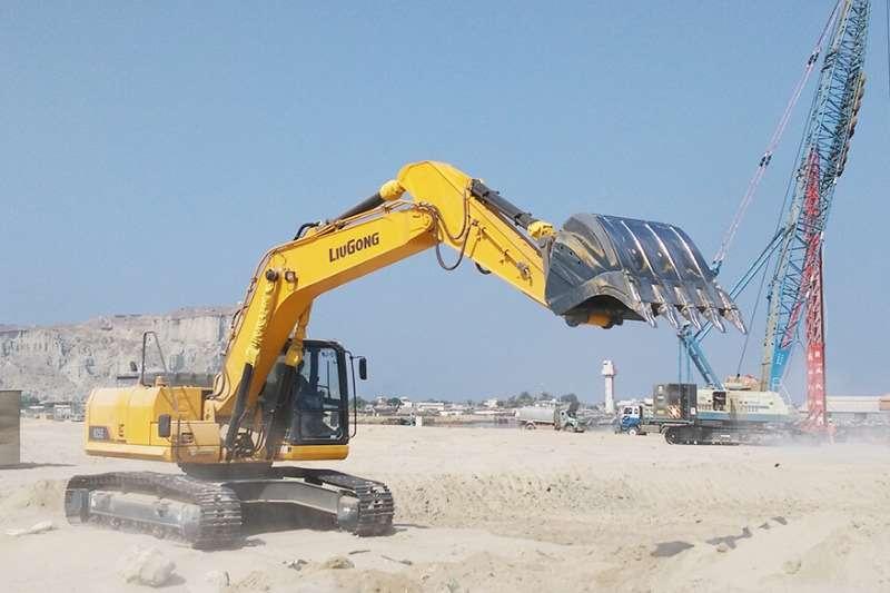 Liugong CLG925E Excavator Excavators