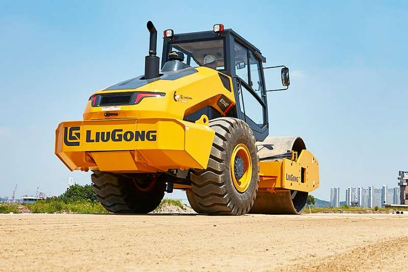 Liugong Rollers CLG6114E Roller 2019
