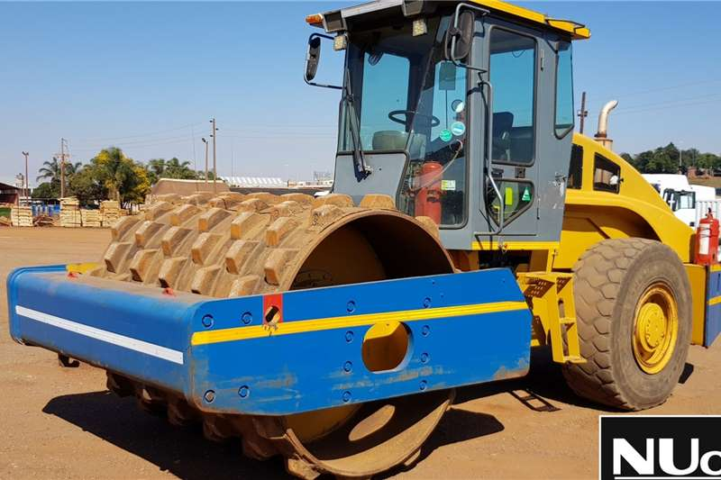 Liugong Rollers Liugong CLG614 Padfoot Roller 2010
