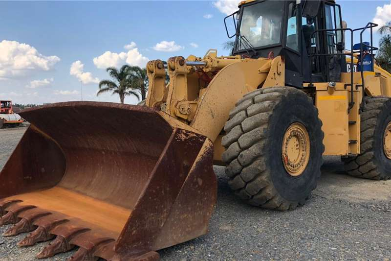 2011 Caterpillar  980H FRONT END LOADER