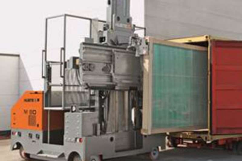 Loaders Hubtex. Glass Transport Systems