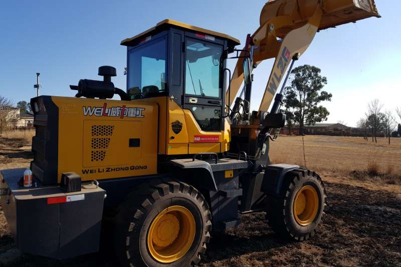 Loaders new front loader 65kw. 1.6 ton loading weight. 2019