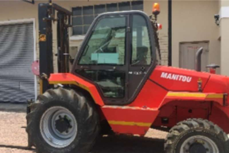 Manitou Forklifts M X 30 4 Rough Terrain Forklift 2016