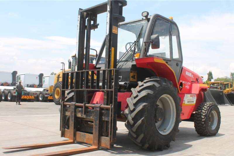 Manitou Forklifts M30 2TH 4x2 Rough Terrain Forklift 2011