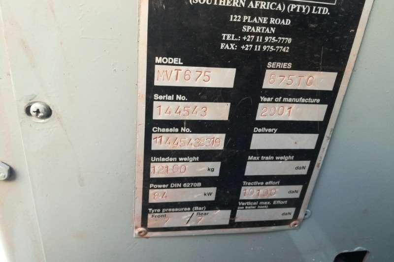 Manitou Manitou MVT 675 Telehandler Telescopic handlers