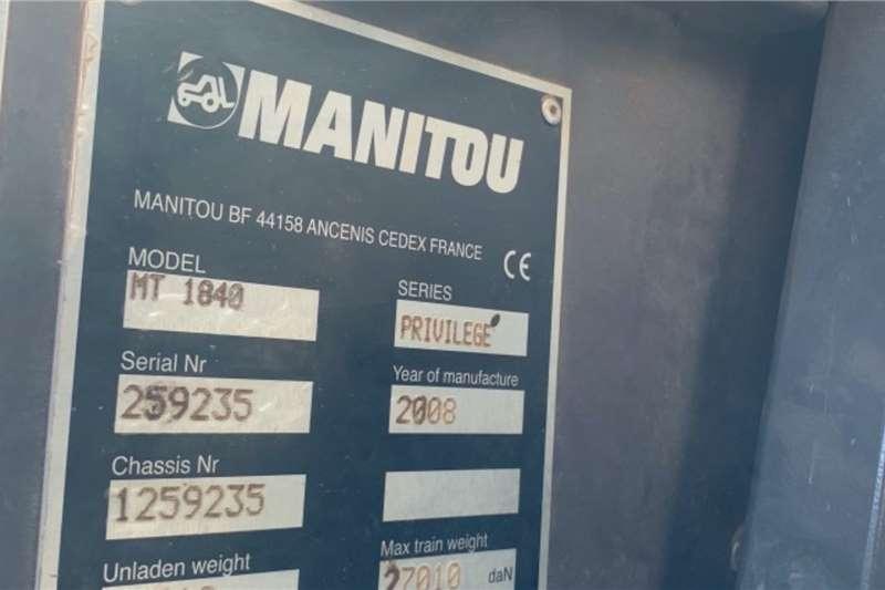 Manitou MT1840 4X4 Telescopic handlers