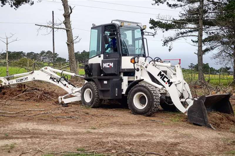 MCM Backhoe loader Demo Model: 37X Mini TLB 2019
