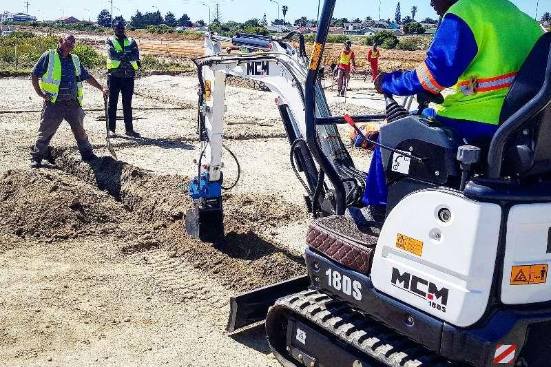 MCM Crawler excavator 1.8 TonPerkins Excavator   18DS 2019