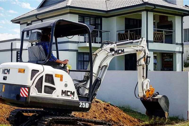 MCM Excavators 25D Excavator 2.5TON 2020
