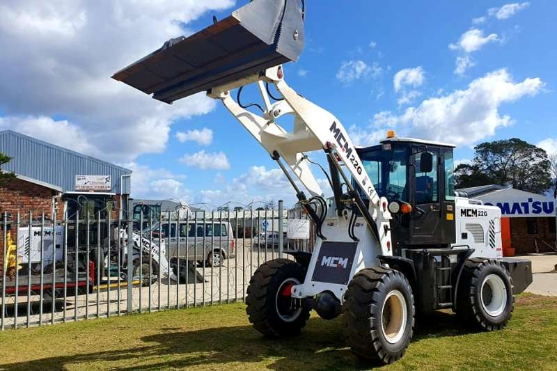 MCM Loaders Construction 1.1m³ Wheel Loader   22G FEL 2020
