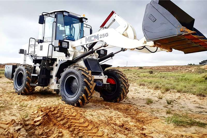 MCM Loaders Construction 1.2m³ FEL   25G Wheel Loader 2.5 TON 2020