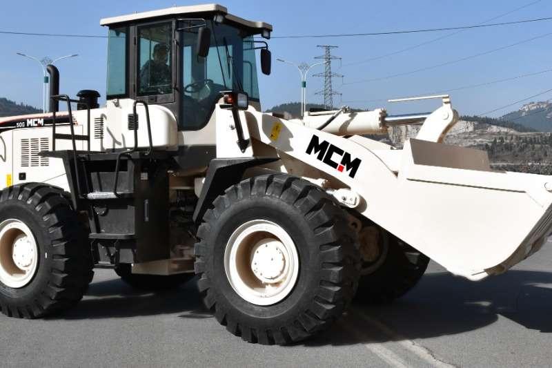 MCM Construction 3m³Wheel Loader 5 TON 50G FEL Loaders