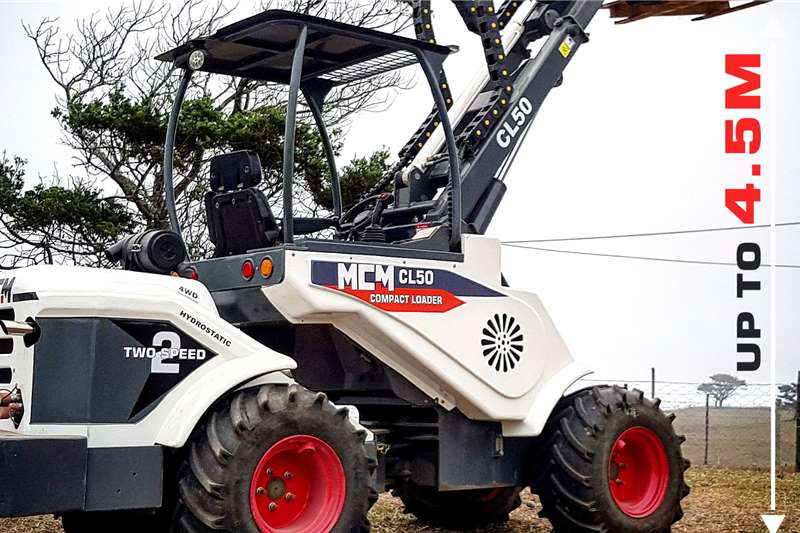 MCM Construction CL50 Multi Functional Compact Loader Loaders