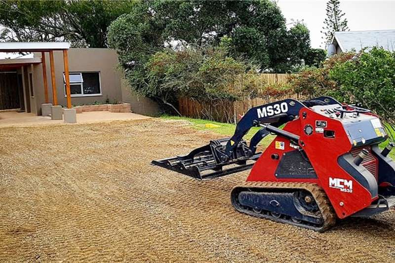MCM Construction MS30 Mini Skid Steer Loaders