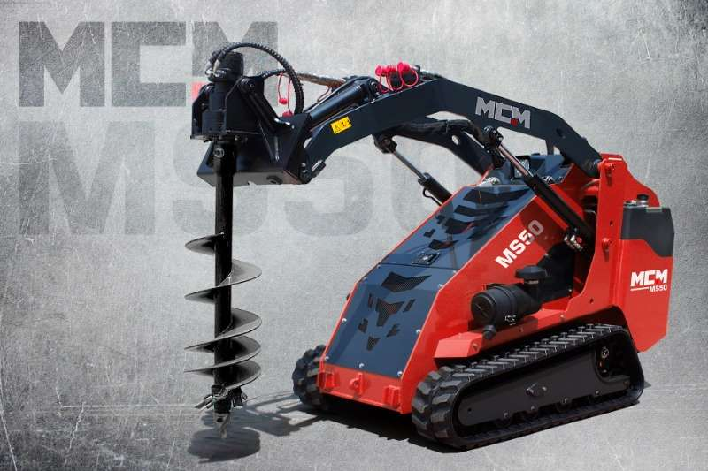 MCM Loaders Construction MS50 Compact Track Loader 2019