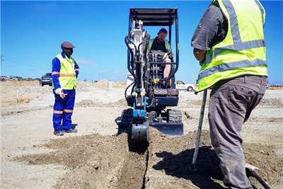 MCM Construction 1.8 Ton Perkins Excavator Mini excavators
