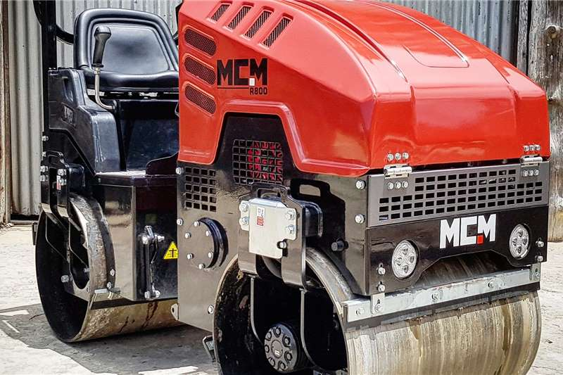 MCM Rollers Vibratory roller 1TON Ride On Roller 2020