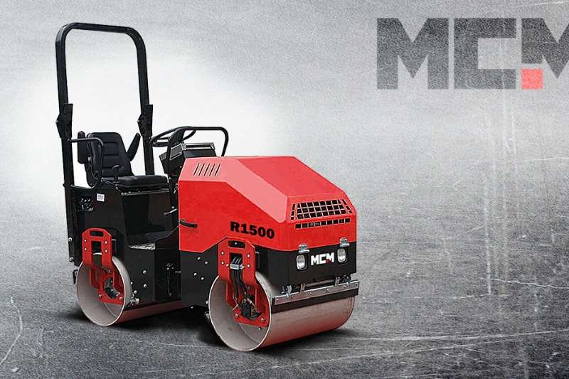 MCM Rollers Vibratory roller R1500   1.5TON Ride On Roller 2019