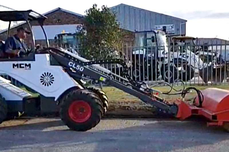 MCM Road sweepers CL50 With Sweeper Attachment Sweeper