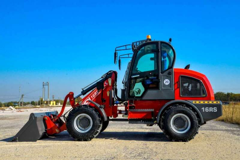 MCM Wheel loader Construction 1.6 Ton Wheel Loader Yanmar Euro Range 2019