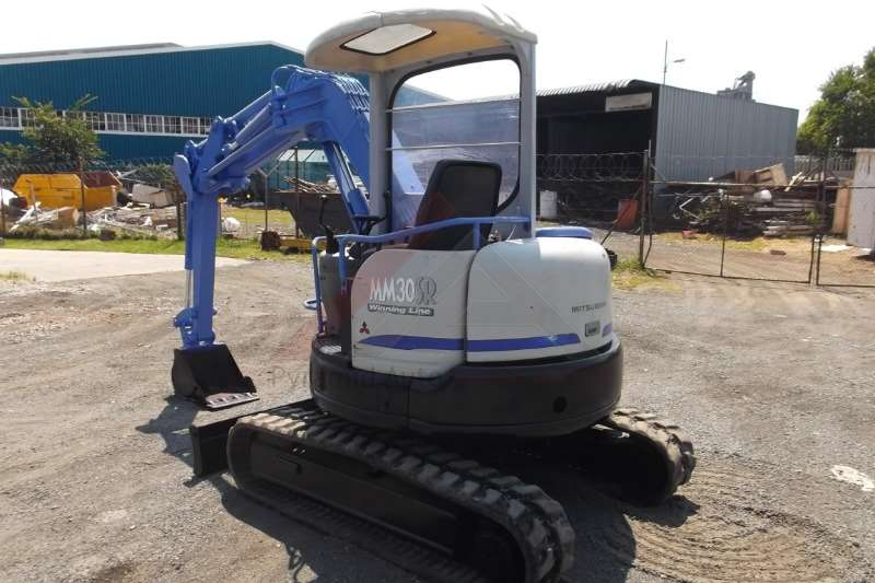 Mitsubishi MM30SR 3 Mini excavators