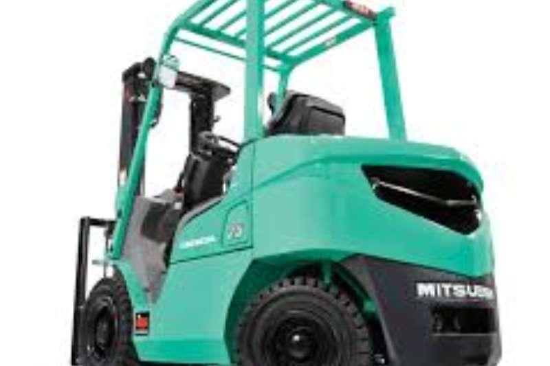 Mitsubishi Forklifts Diesel forklift 2.5 Ton Diesel Forklift   3m Lift   Side Shift 2008