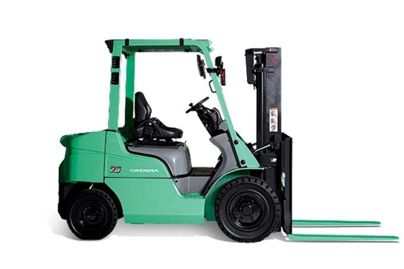 Mitsubishi Forklifts Diesel forklift New 1.8 & 2.5Ton forklifts available from 2020
