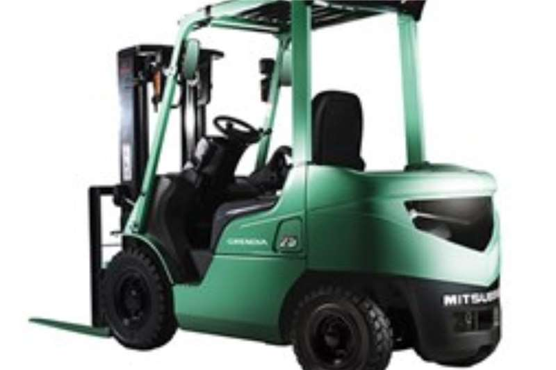 Mitsubishi Diesel forklift New 1.8 & 2.5Ton forklifts available from Forklifts