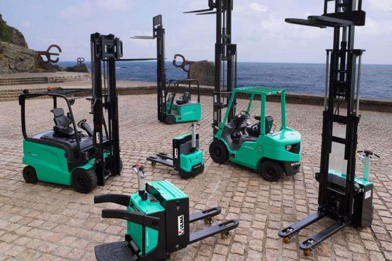 Mitsubishi Forklifts Electic Range