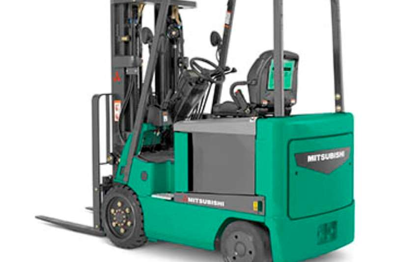 Mitsubishi Forklifts Electric forklift Electric forklifts from R65000