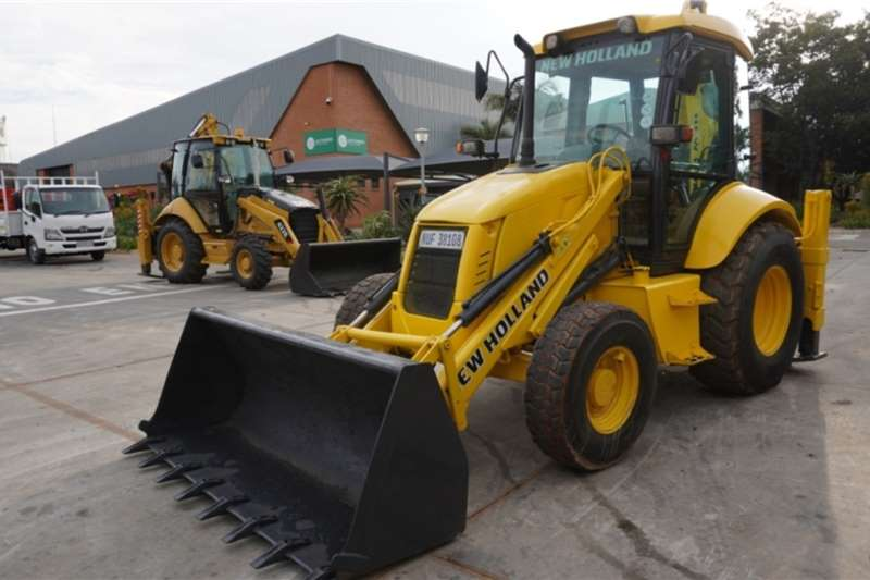 New Holland TLBs B90B 4x4 TLB 2008