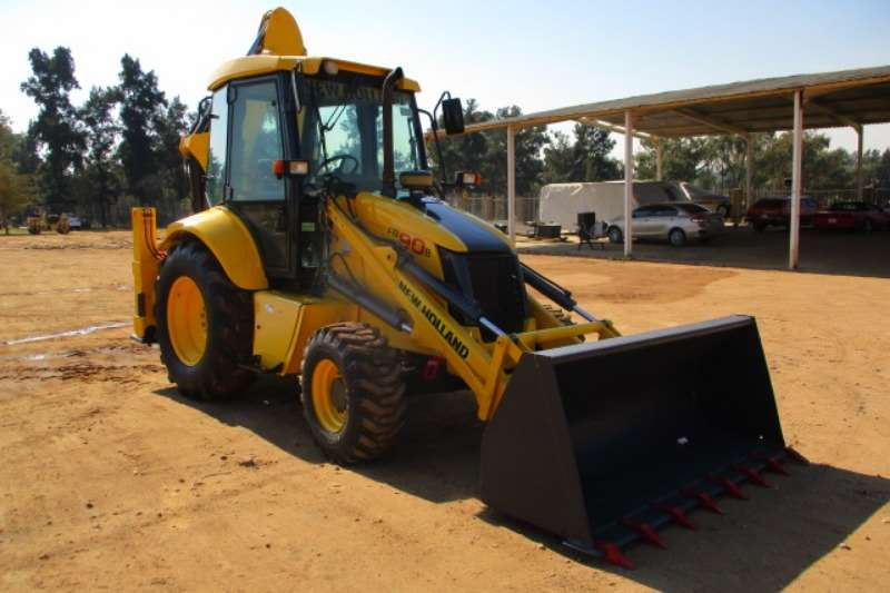 New Holland TLBs Construction NEW HOLLAND FB90B 4X4 TLB 2008