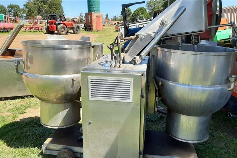 Other Attachments Twin Mixer Industrial Cooker