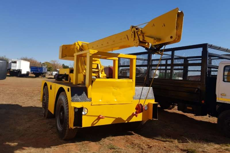 Other Cranes All terrain Iron Fairy 8 Ton Yard Crane